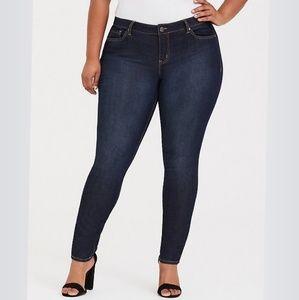 Torrid Curvy Skinny Jean-Dark Wash